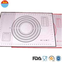 China No Space Occupation Silicone Baking Sheet , Easy To Dry Non Stick Baking Mat on sale
