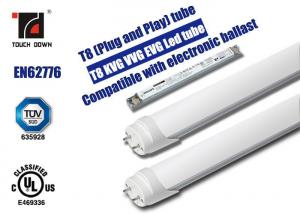 China Energy Saving T8 LED Tube Light 1500mm Long 3000K Warm White 3120lm on sale