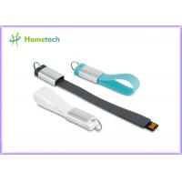 China Waterproof Silicone Wristband Usb 2.0 Memory Stick , Flash Pen Drive 4gb 32gb Custom Logo on sale