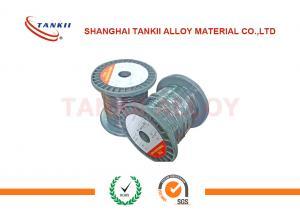 China Type K de fil d'extension du thermocouple ISO9001 non abrité avec la couleur verte et blanche d'isolation de téflon/fibre de verre on sale