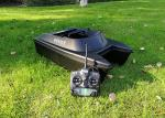 OEM / ODM catamaran bait boat , DEVICT bait boat DEVC-300 black hull ABS plastict