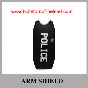 China Wholesale  Cheap China Army Police Black Tactical Steel Anti-Riot Steel Shield on sale