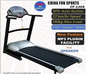 China Fun Sport 3 0HP Commercial Fitness Treadmill Running Machine