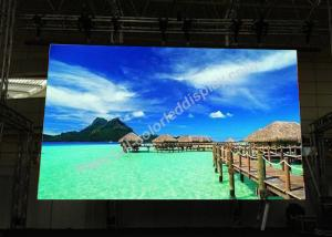China Remote rgb led video wall display with 5020 IC , MBI5124 IC CE Power Supply on sale