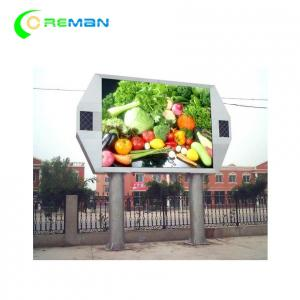 China Anti UV LED Video Wall Display Fixed Installation Full Color P6 P8 P10 320X160mm on sale