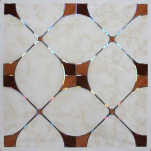 China 595*595mm Square PVC Ceiling Tiles , Hot Stamping Waterproof PVC Ceiling Panel on sale