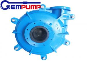 China 100D-L Centrifugal Slurry Pump / Mining Slurry Pump ZVZ Drive on sale
