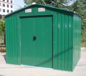 China 6x4 Mini Apex Metal Garden Shed , Sunor Prefabricated Double Doors Storage Sheds on sale