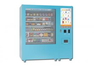 China Snack Yogurt Elevator Food Vending Machine With 32 Inch Touch Screen on sale