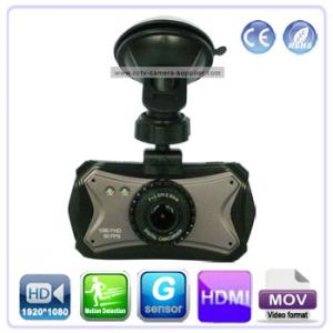 China High Resolution CAR DVR 3 inch touch screen With IR LEDs HD1080p Resolution H.264 Compression format G-sensor on sale