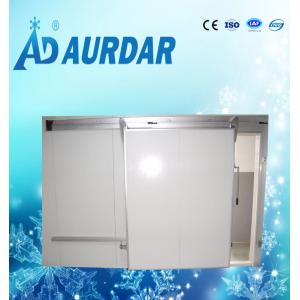 China AD-05 colored steel stainless steel plated sliding door for cold room on sale