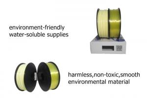 China Plastic Rod 3d Printer ABS PLA PVA 3D Printer Filament With ROHS SGS Certification on sale