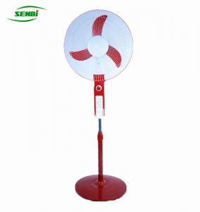 China electronic charger solar pedestal 16inch fan manufacturer on sale