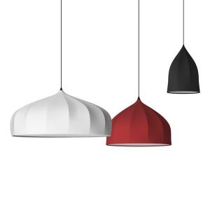 China Red white  Modern Suspension Light , Dining Room Pendant Lights on sale