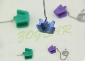 China TA013C Rubber Mouth Props with Chain size large medium small soft cheical sterilization on sale