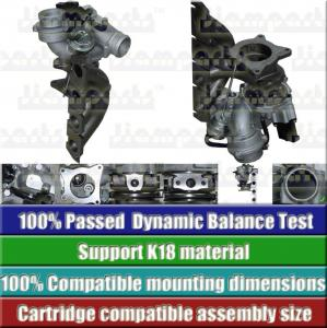 China VOLKSWAGEN ENGINE Parts K418 K03 5303-970-0099 03c145701t Small Car Turbo Kit on sale
