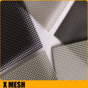 China Ultra Fine 11 mesh * 0.8mm wire security doors windows screen for australia market on sale
