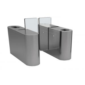 China Anti climbing Access Control Turnstiles with acrylic panel , 1.6 meter height on sale