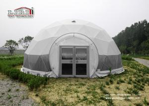 China Latest Inovation White Transparent PVC Geodesic Dome Tents for Outdoor Events on sale