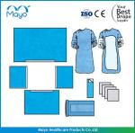 Surgical consumables hospital operation pack /universal drape packs