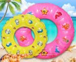 Durable Kids Inflatable Swimming Rings Inflatable Beach Rings for Beach or Water Pool