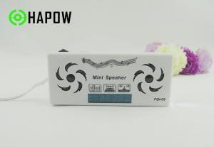 China Gift speaker  Rechargeable USB Card Speaker with  FM radio on sale