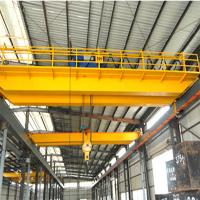 Steel coil lifting double girder overhead crane for sale