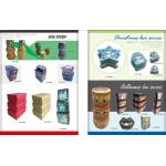 holiday boxes, office supplies, paper boxes, folding boxes