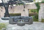 Los muebles de aluminio modernos del patio fijan/los sistemas al aire libre de la conversación del patio