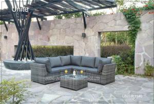 Quality Modern Aluminium Patio Furniture Sets / Outdoor Patio Conversation Sets for sale