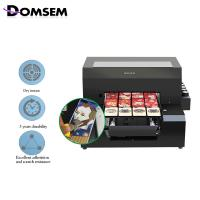 China Plastic Photo Id Card Printing Machine 6×500 Ml / Set UV Ink Included on sale