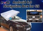 Interface de vidéo d'Android 6,0 pour la version 2014-2018 de souris de Lexus GS, boîte Mirrorlink GS450h GS350 de navigation de généralistes de voiture
