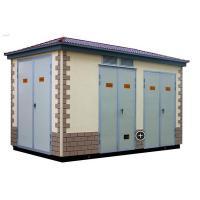 European Box Type Electrical Power Substation , Three Phase Power Plant Substation
