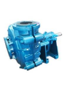 China High Chrome Rubber Lined Slurry Pumps , Mechanical Seal Mine Acid Unloading Pump on sale