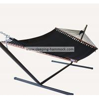 Big Sturdy 2 Person Sleeping Hammock , Beach Swing Caribbean Style Hammock With Stand