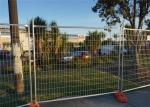 Construction Fencing System 1.8m*2.4m mesh 60mm*150mm*4.00mm Tubing 32mm*2.0mm AS/NZS/ATSM standard