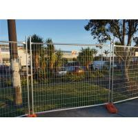 Construction Fencing System 1.8m*2.4m mesh 60mm*150mm*4.00mm Tubing 32mm*2.0mm AS/NZS/ATSM standard