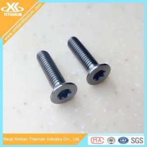 China High Quality and Best Price Metric Gr5 Titanium Torx Flat Head Screws on sale