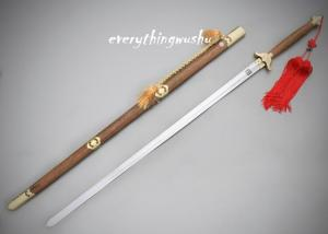 China Ba Gua Swords Two Handed Straight Swords Bagua Swords Tanglang Swords on sale