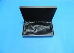 China Black Bracelet Jewelry Gift Boxes Printed , Gloss Lamination With Foam Insert on sale