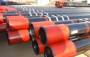 China G105 4 1/2 Inch Oil Casing And Tubing , Buttress Thread Casing With STC BTC LTC Thread on sale