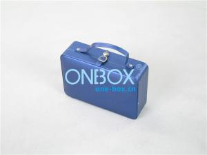 China Women Cosmetic Packaging Boxes / Cosmetic Travel Case Velvet Lining on sale