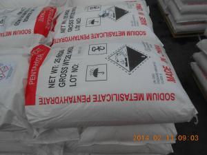 China Agentes de diminuição químicos Na2SiO3 da água da categoria industrial do ISO para a indústria petroleira on sale