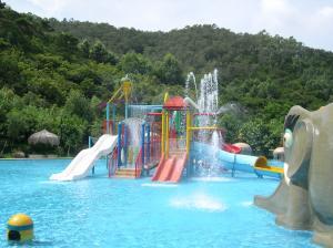 OEM Fiberglass Kids\' Water Playground System, Swimming pool ...
