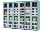 El aeropuerto/la estación automatizó las máquinas expendedoras del armario con la función teledirigida
