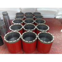 Red PW Rock Drill Bits Surface Set Impregnated Casing Shoe Bit For Drilling