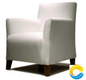 China Latest Upholstery Leather Single Sofa  Design Furniture Armchair for Living Room on sale