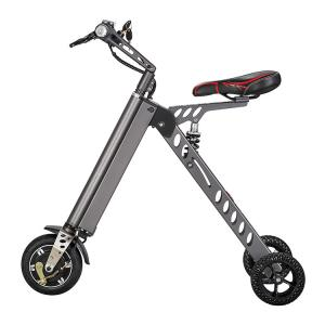 China 3 Wheel Electric Scooter 25Km Range Adult Kick Scooter Silver 8 Inch on sale