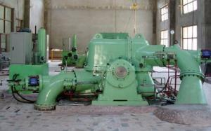 China Double-nozzle Pelton Turbine/water turbine/hydro turbine on sale