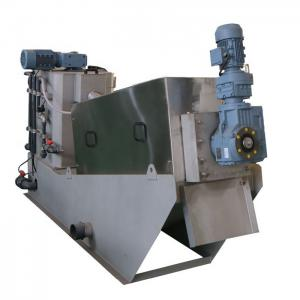 China Volute Sludge Dewatering Machine Volute Filter Press Stainless Steel Material on sale